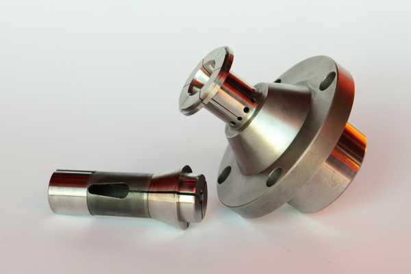 turning machining, collet brass
