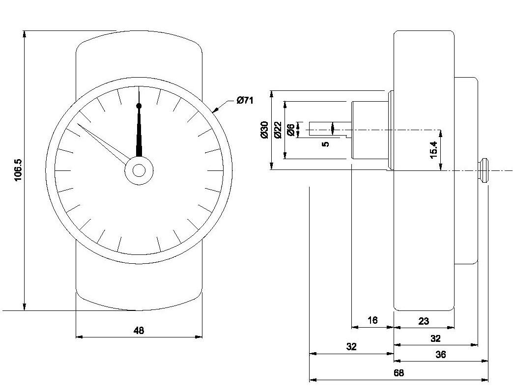 Torquimetro Somfy Tec CM10 20