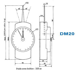 dynamomètre conception
