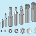 Fabricant poinçon HSS, carbure, ASP