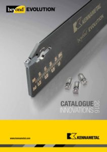 Outil perçage, foret, outil coupant catalogue innovation 2016 Kennametal