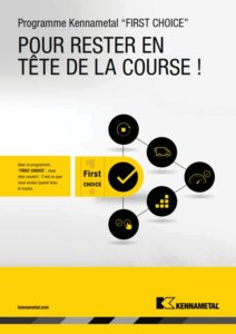 Programme First Choice Kennametal