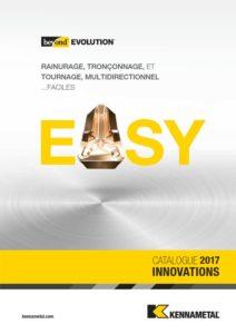 Outil rainurage, tronçonnage Kennametal, outil perçage, outil coupant, innovation 2017