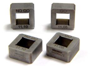 Calibre de contrôle carré