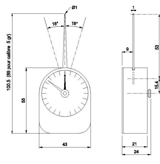 dynamomètre DM10 DM20